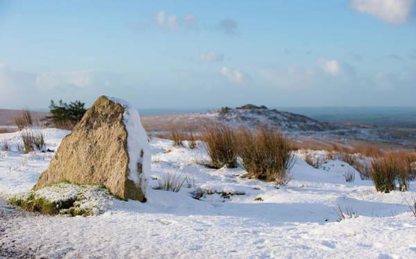 Photograph - Dartmoor In The Snow IIi by Helen Northcott
