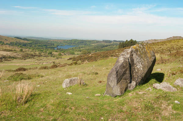 Photograph - Dartmoor In The Sun by Helen Northcott