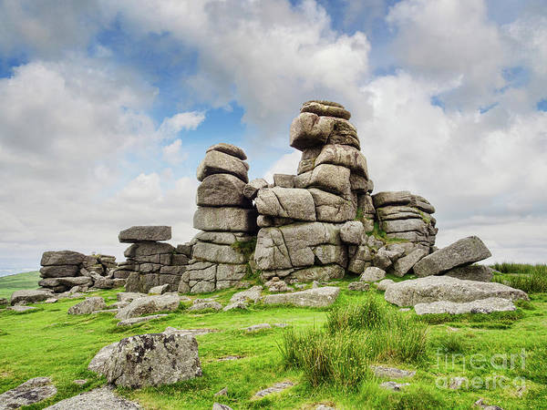 Dartmoor National Park Photograph - Dartmoor Tor by Colin and Linda McKie