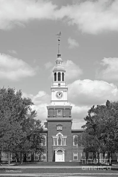 Nh Photograph - Dartmouth College Baker Library by University Icons
