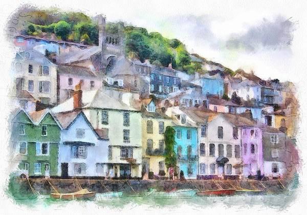 Digital Art - Dartmouth Devon England by Charmaine Zoe
