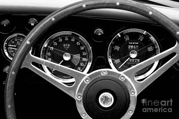 Photograph - Dashboard by Stephen Mitchell