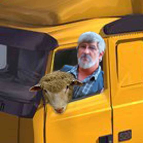 Semi Truck Digital Art - Date With Bob by Ric Forney