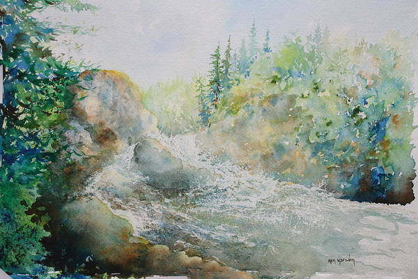 Dave's Falls Art Print