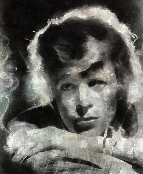 Bowie Painting - David Bowie By Mary Bassett by Mary Bassett