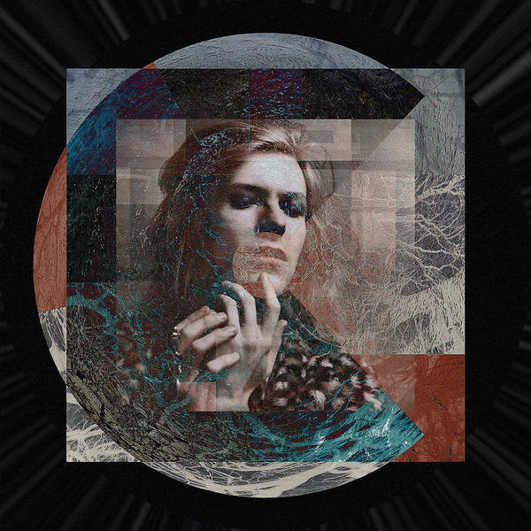 Glam Rock Digital Art - David Bowie Hunky Dory by Graceindirain Imagery