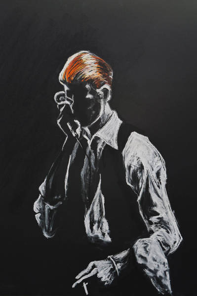David Bowie Painting - David Bowie by Melissa O'Brien