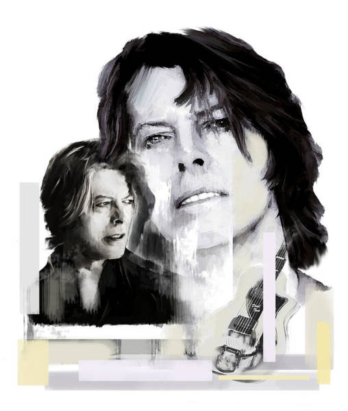 Painting - David Bowie Thursday's Child by Iconic Images Art Gallery David Pucciarelli