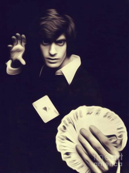 Illusion Digital Art - David Copperfield, Magician by John Springfield