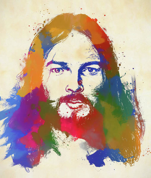 David Gilmour Painting - David Gilmour by Dan Sproul