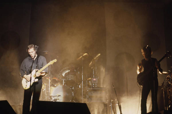 Photograph - David Gilmour Live by Rich Fuscia
