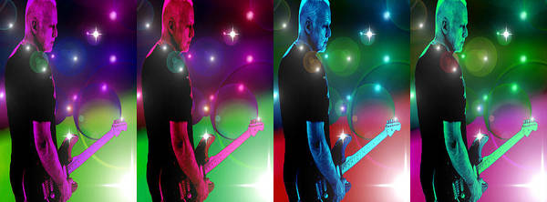 Wall Art - Digital Art - David Gilmour by Martin James