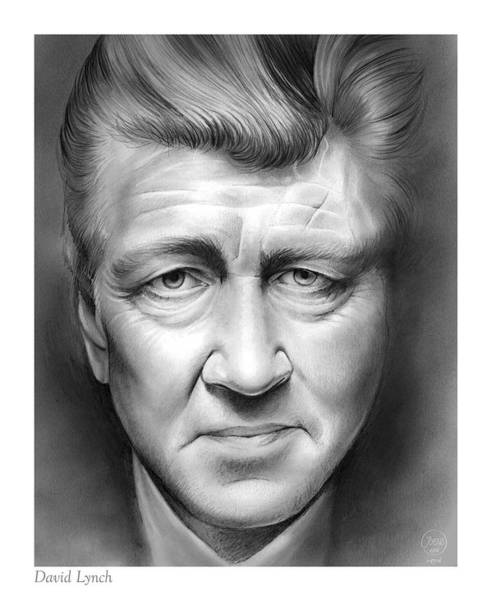 Wall Art - Drawing - David Lynch by Greg Joens