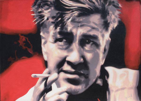 Serial Killer Painting - David Lynch by Hood aka Ludzska