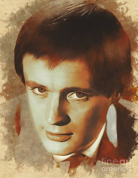 Uncle Painting - David Mccallum, Actor by Mary Bassett