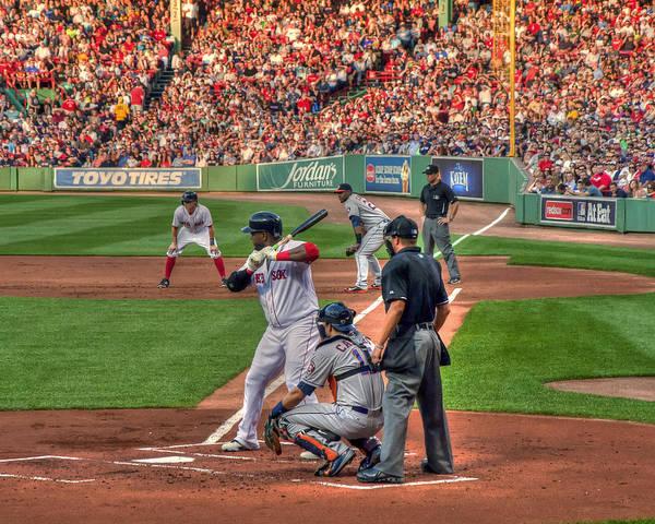 Photograph - David Ortiz - Bostonn Red Sox by Joann Vitali