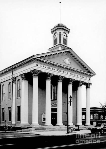 Photograph - Davidson County Courthouse 2 by Patrick M Lynch