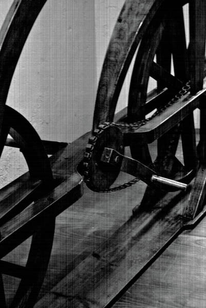 Photograph - Davinci Bike Chain by Jani Freimann