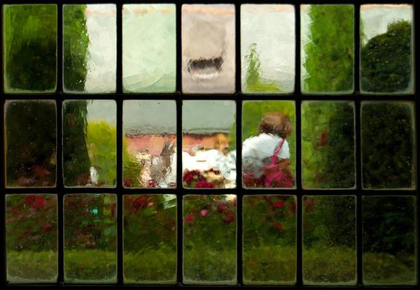 Photograph - Davinci Window Impressions 2 by Jani Freimann