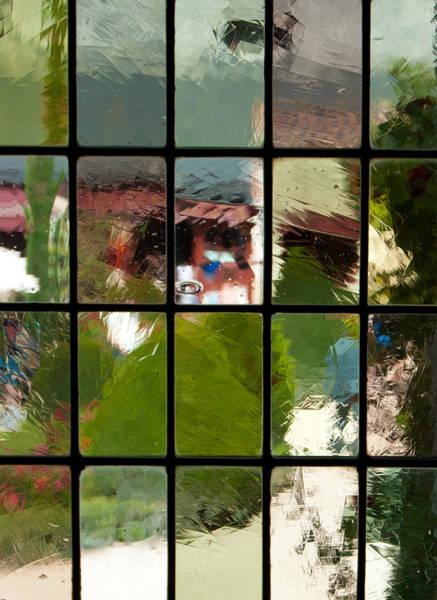 Photograph - Davinci Window Impressions by Jani Freimann