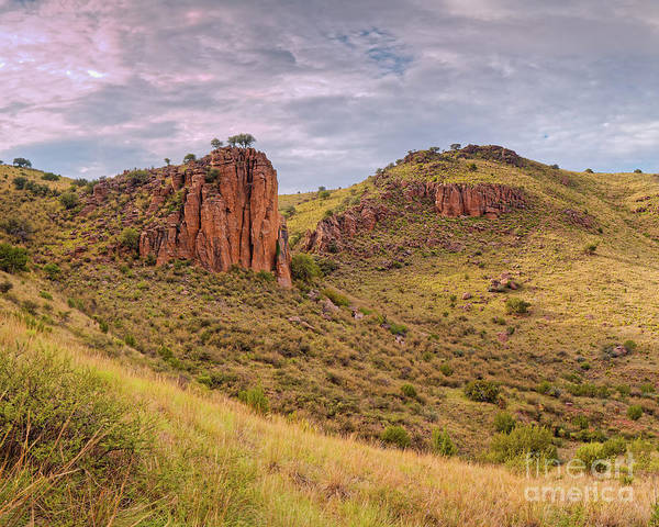 Photograph - Davis Mountains State Park Rocky Outcrop From The Indian Lodge Trail - Jeff Davis County West Texas by Silvio Ligutti