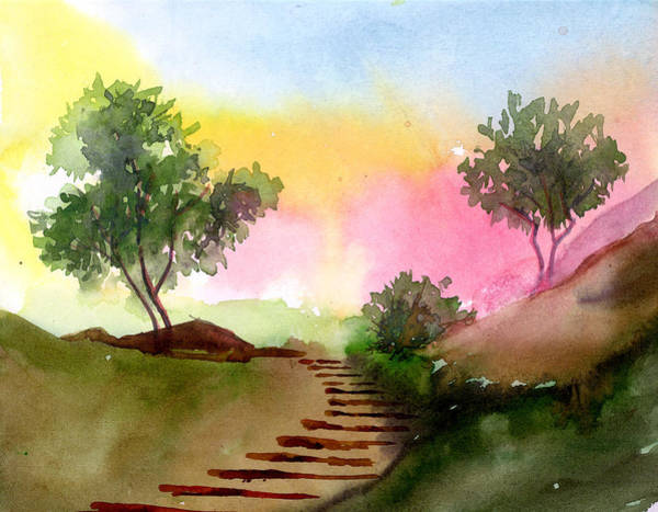 Painting - Dawn by Anil Nene
