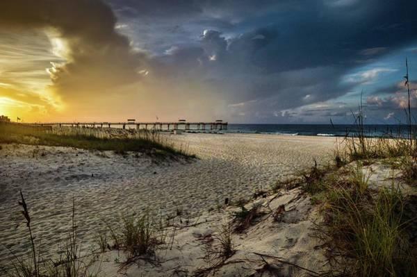 Photograph - Dawn At 4 Seasons Pier And Cotton Bayou by Michael Thomas