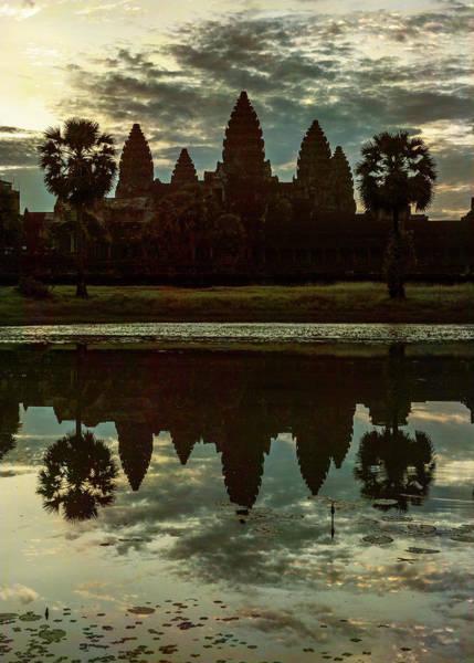 Wall Art - Photograph - Dawn At Angkor Wat - #2 by Stephen Stookey