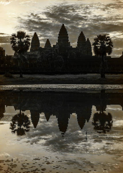Wall Art - Photograph - Dawn At Angkor Wat - #3 by Stephen Stookey