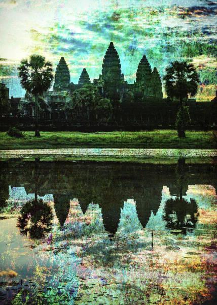Wall Art - Photograph - Dawn At Angkor Wat - #4 by Stephen Stookey