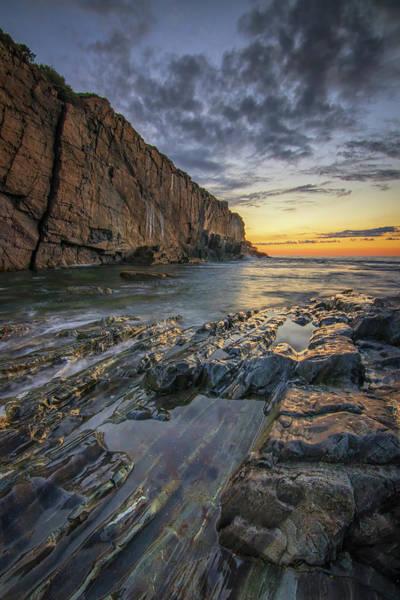Photograph - Dawn At Bald Head Cliff by Kristen Wilkinson