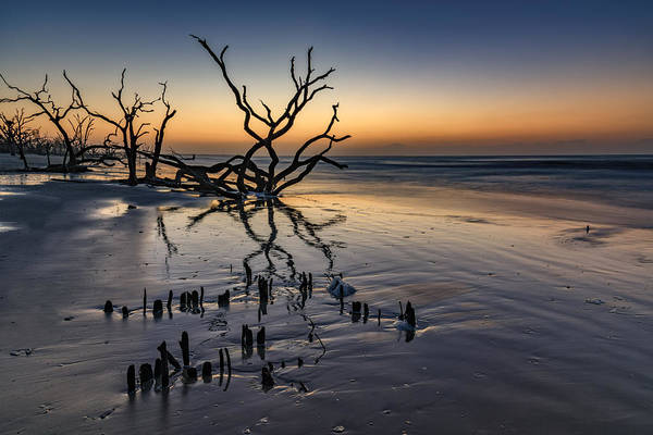 Photograph - Dawn At Botany Bay by Rick Berk