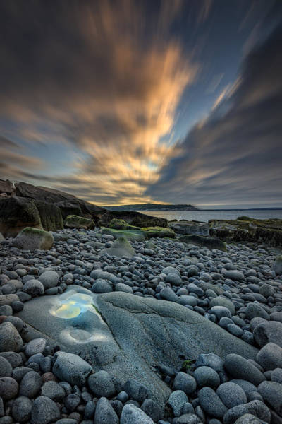 Photograph - Dawn At Boulder Beach by Rick Berk