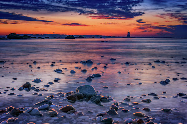 Photograph - Dawn At Orient Point by Rick Berk