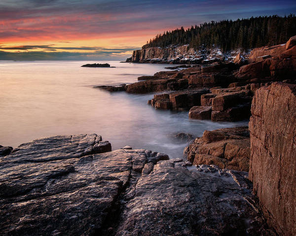 Photograph - Dawn At Otter Cliffs by Darylann Leonard Photography