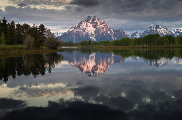 Oxbow Park Photograph - Dawn At Oxbow Bend by Greg Nyquist