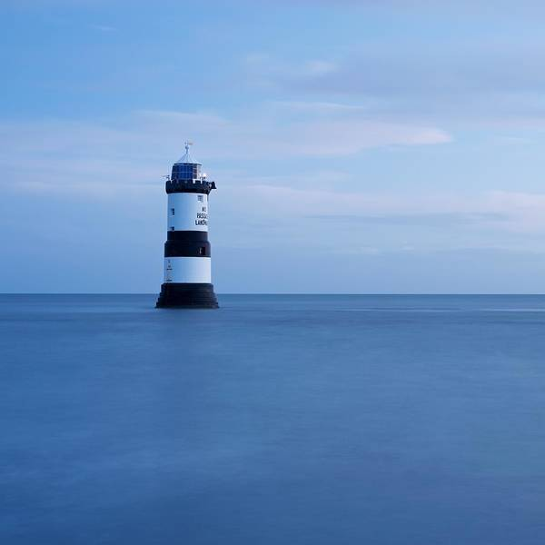 Photograph - Dawn At Penmon Lighthouse by Stephen Taylor