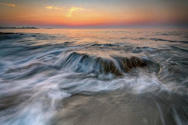Sandy Point State Park Photograph - Dawn At Reid State Park by Rick Berk