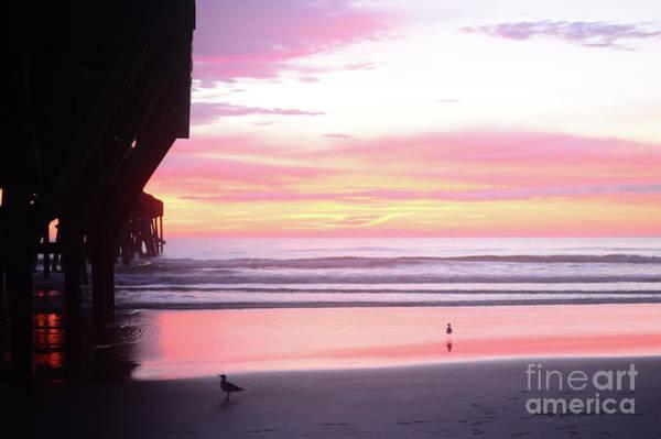Dawn At The Beach 8-14-16 Art Print