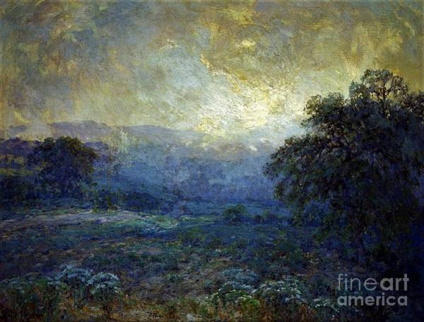 Wall Art - Painting - Dawn At The Hills by Pg Reproductions