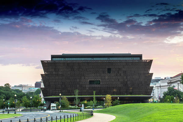 Photograph - Dawn At The National Museum Of African American History And Culture.  No 1 by Marvin Bowser