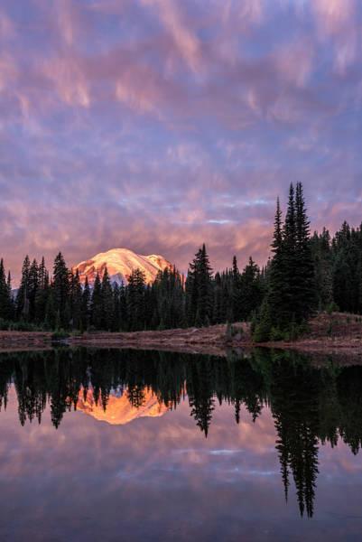 Photograph - Dawn At Tipsoo Lake by Loree Johnson