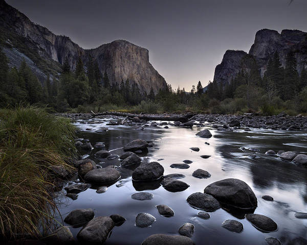 Photograph - Dawn At Yosemite Gate by Denise Dube