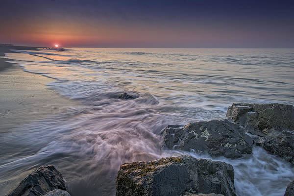 Photograph - Dawn Breaks At Cape May by Rick Berk
