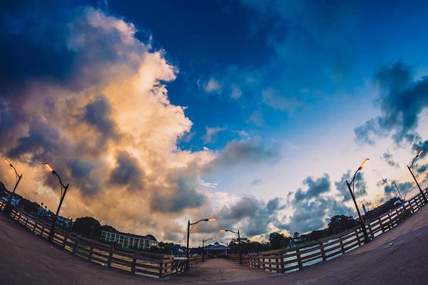 Photograph - Dawn Breaks At St. Simons Pier by Chris Bordeleau