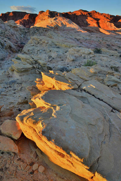 Photograph - Dawn Breaks At Valley Of Fire by Ray Mathis