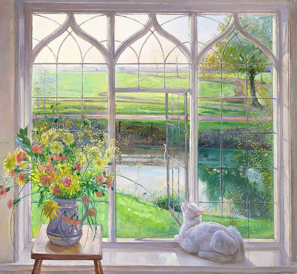 Wall Art - Painting - Dawn Breeze by Timothy Easton