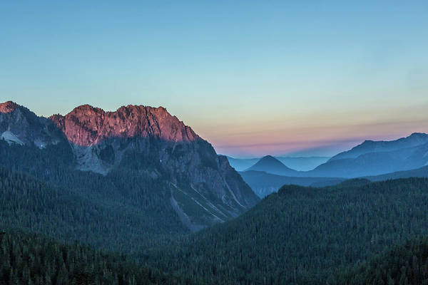 Photograph - Dawn Color At Inspiration Point by Belinda Greb