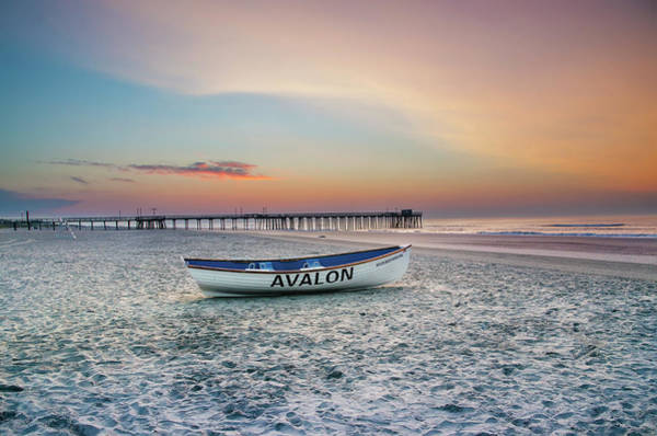 Photograph - Dawn Coming To Avalon by Bill Cannon