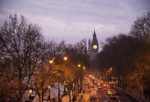 Photograph - Dawn Commute by Alex Lapidus